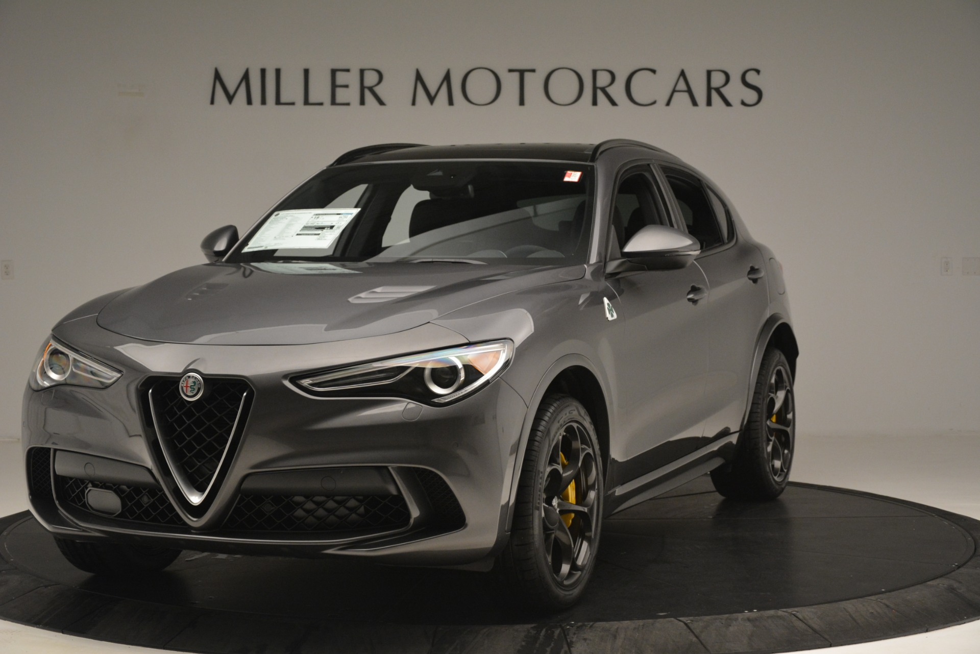 New 2019 Alfa Romeo Stelvio Quadrifoglio For Sale In Westport, CT 3038_main