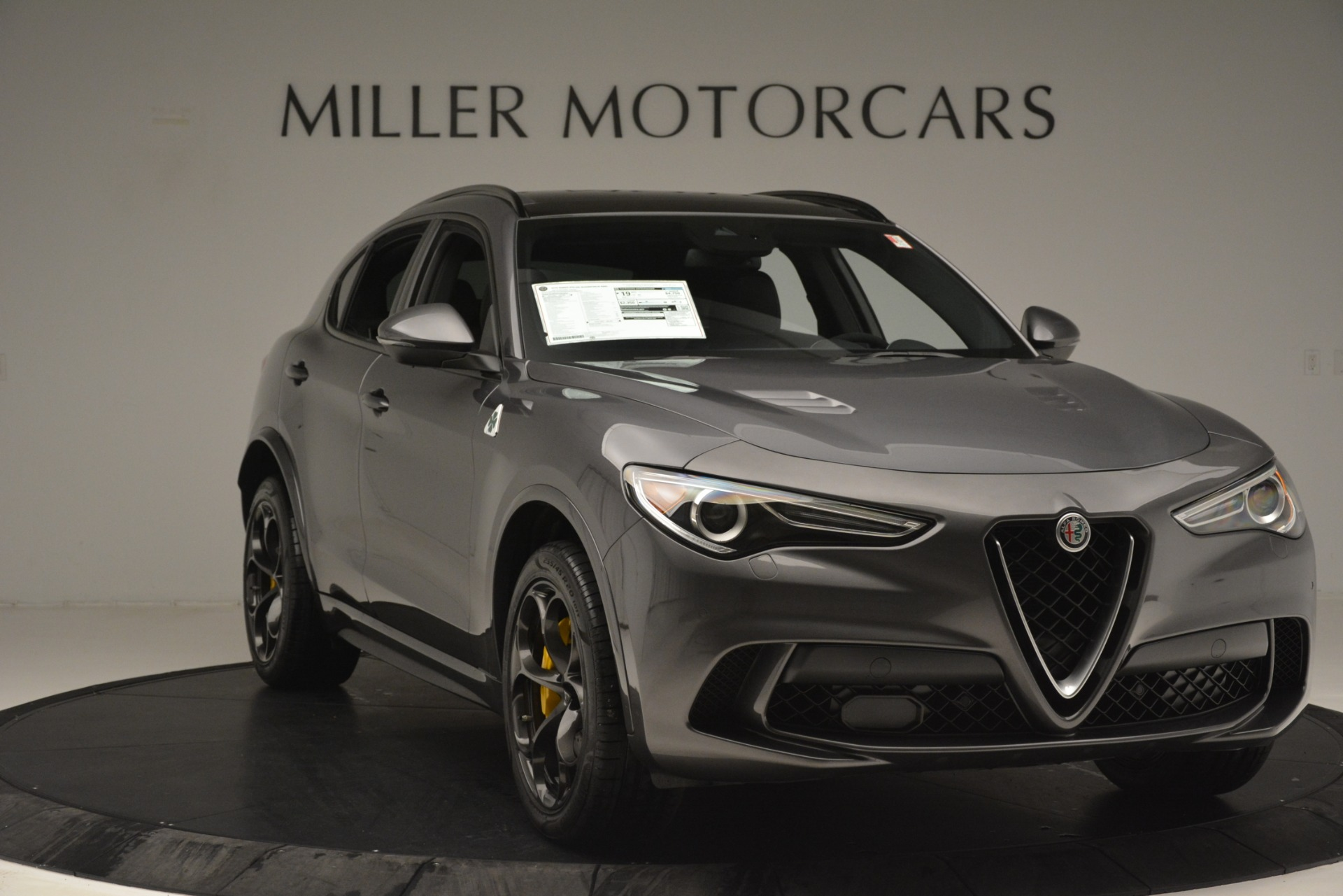 New 2019 Alfa Romeo Stelvio Quadrifoglio For Sale In Westport, CT 3038_p11