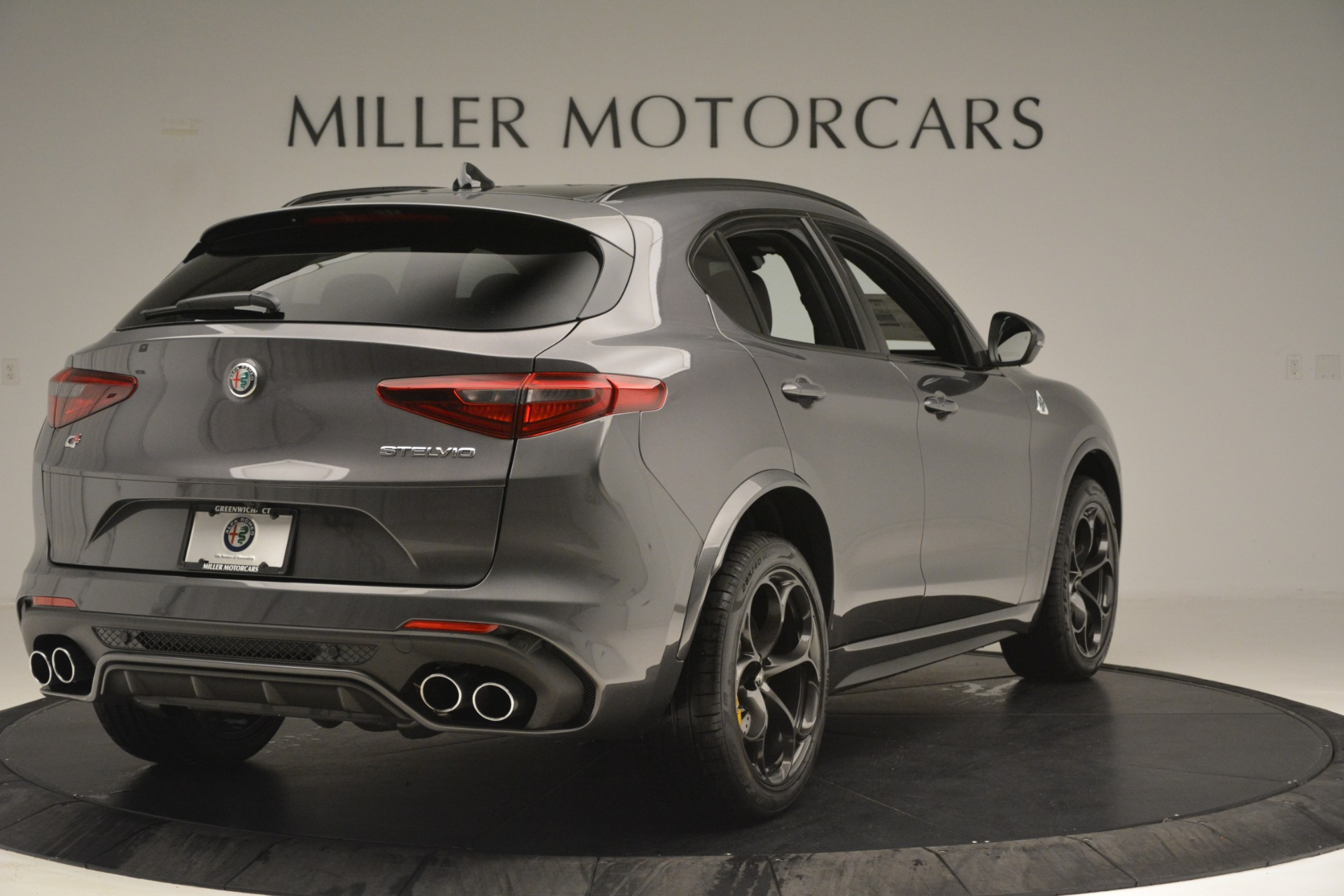 New 2019 Alfa Romeo Stelvio Quadrifoglio For Sale In Westport, CT 3038_p7