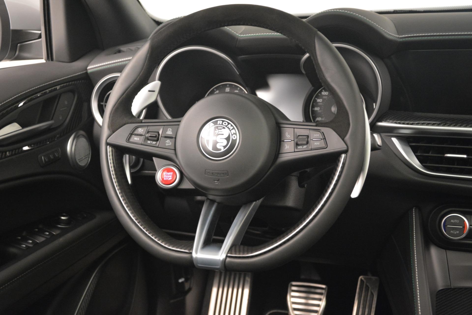 New 2019 Alfa Romeo Stelvio Quadrifoglio For Sale In Westport, CT 3039_p16