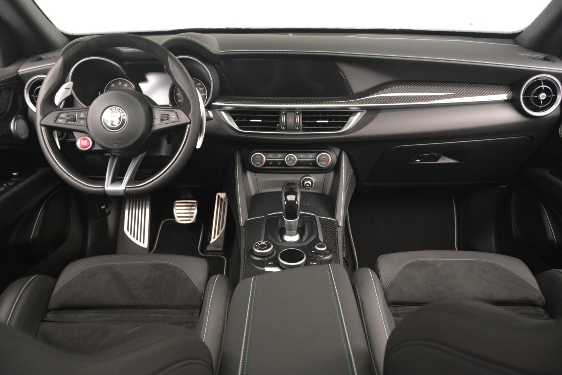 New 2019 Alfa Romeo Stelvio Quadrifoglio For Sale In Westport, CT 3039_p17