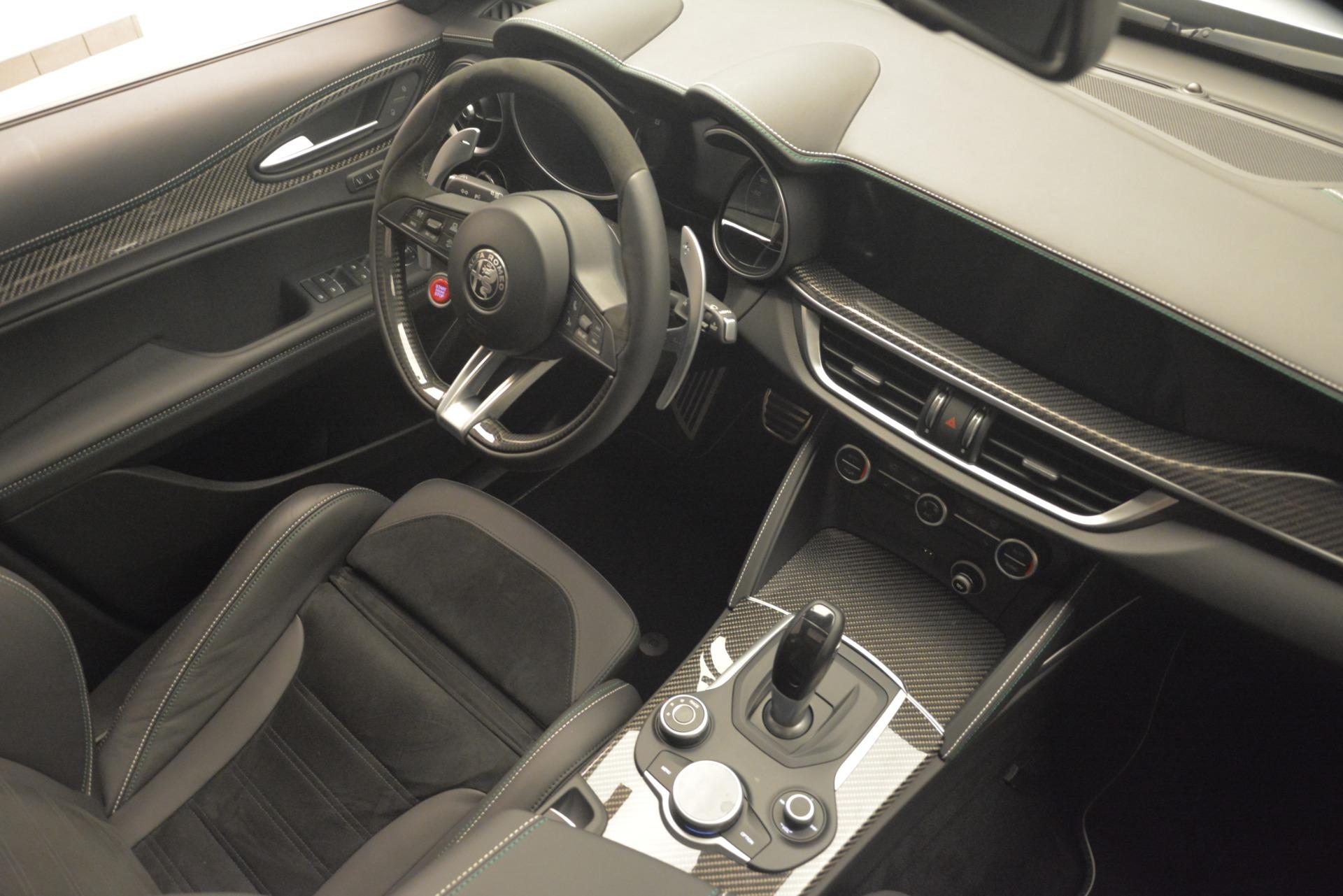 New 2019 Alfa Romeo Stelvio Quadrifoglio For Sale In Westport, CT 3039_p18