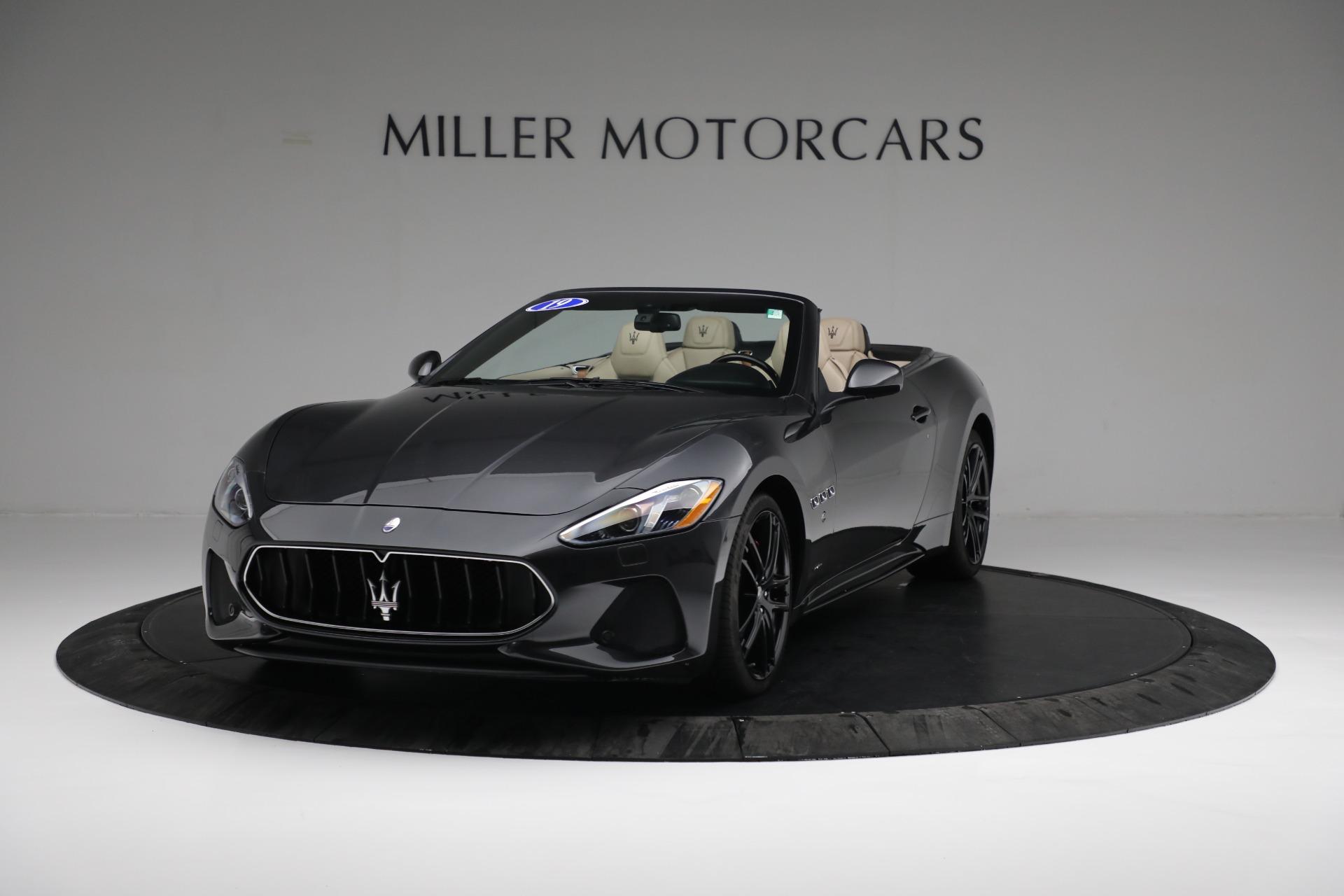 New 2019 Maserati GranTurismo Sport Convertible For Sale In Westport, CT 3040_main