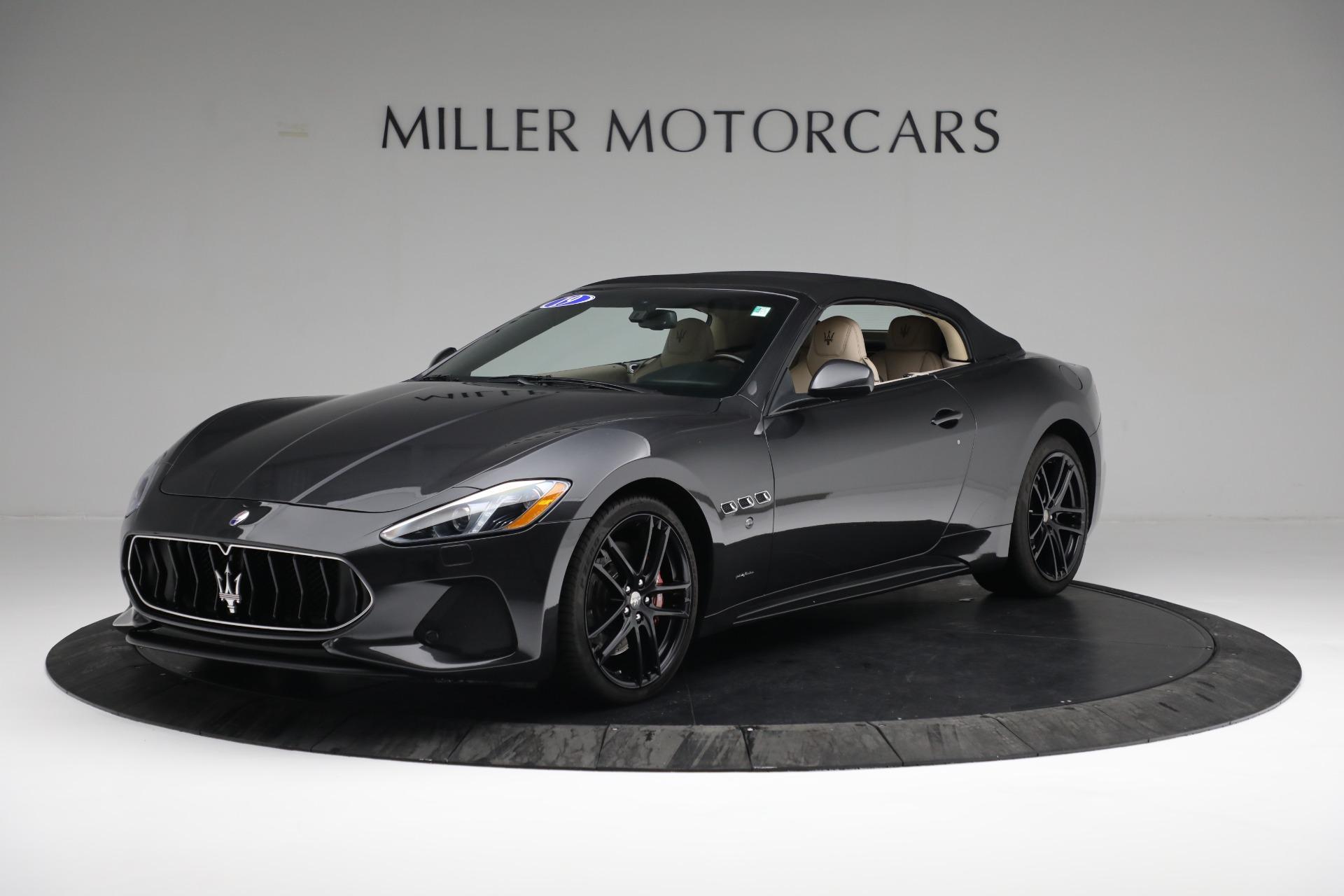 New 2019 Maserati GranTurismo Sport Convertible For Sale In Westport, CT 3040_p13