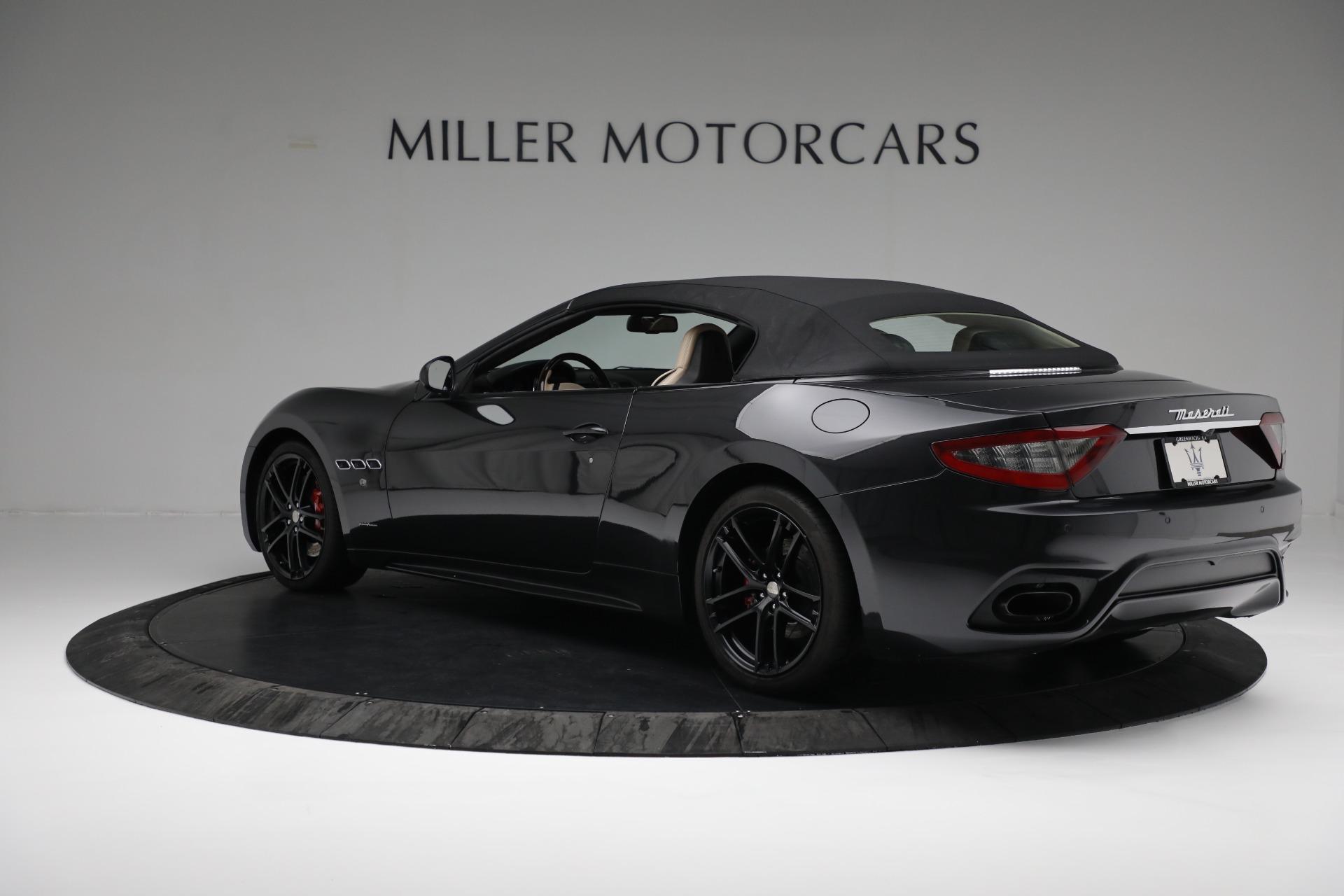 New 2019 Maserati GranTurismo Sport Convertible For Sale In Westport, CT 3040_p15