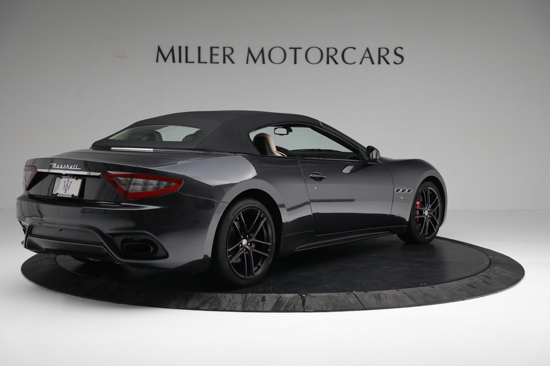 New 2019 Maserati GranTurismo Sport Convertible For Sale In Westport, CT 3040_p16