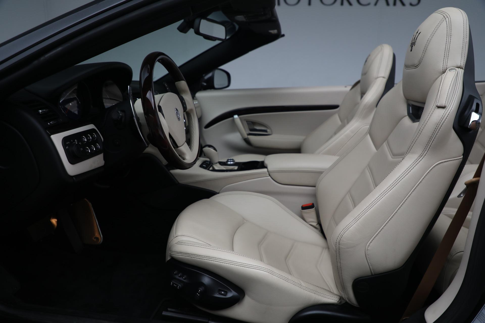 New 2019 Maserati GranTurismo Sport Convertible For Sale In Westport, CT 3040_p20