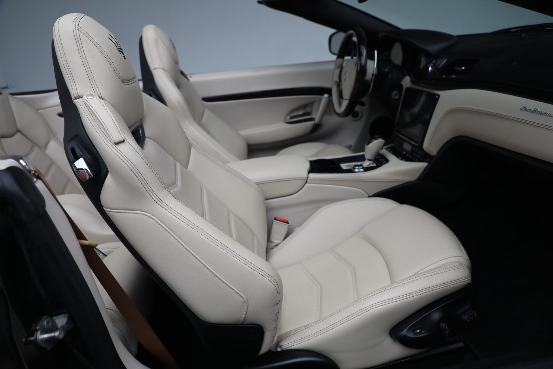 New 2019 Maserati GranTurismo Sport Convertible For Sale In Westport, CT 3040_p24