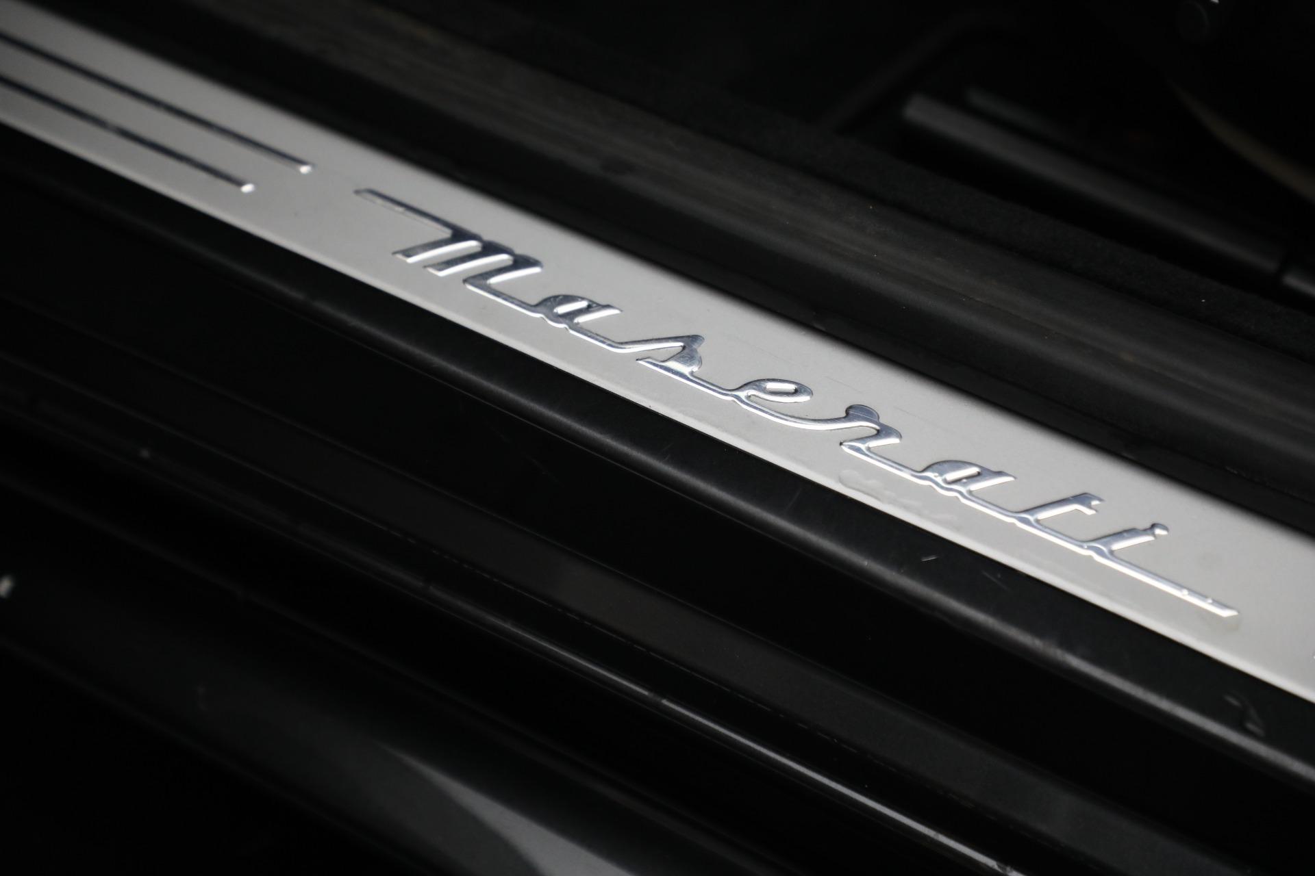 New 2019 Maserati GranTurismo Sport Convertible For Sale In Westport, CT 3040_p30