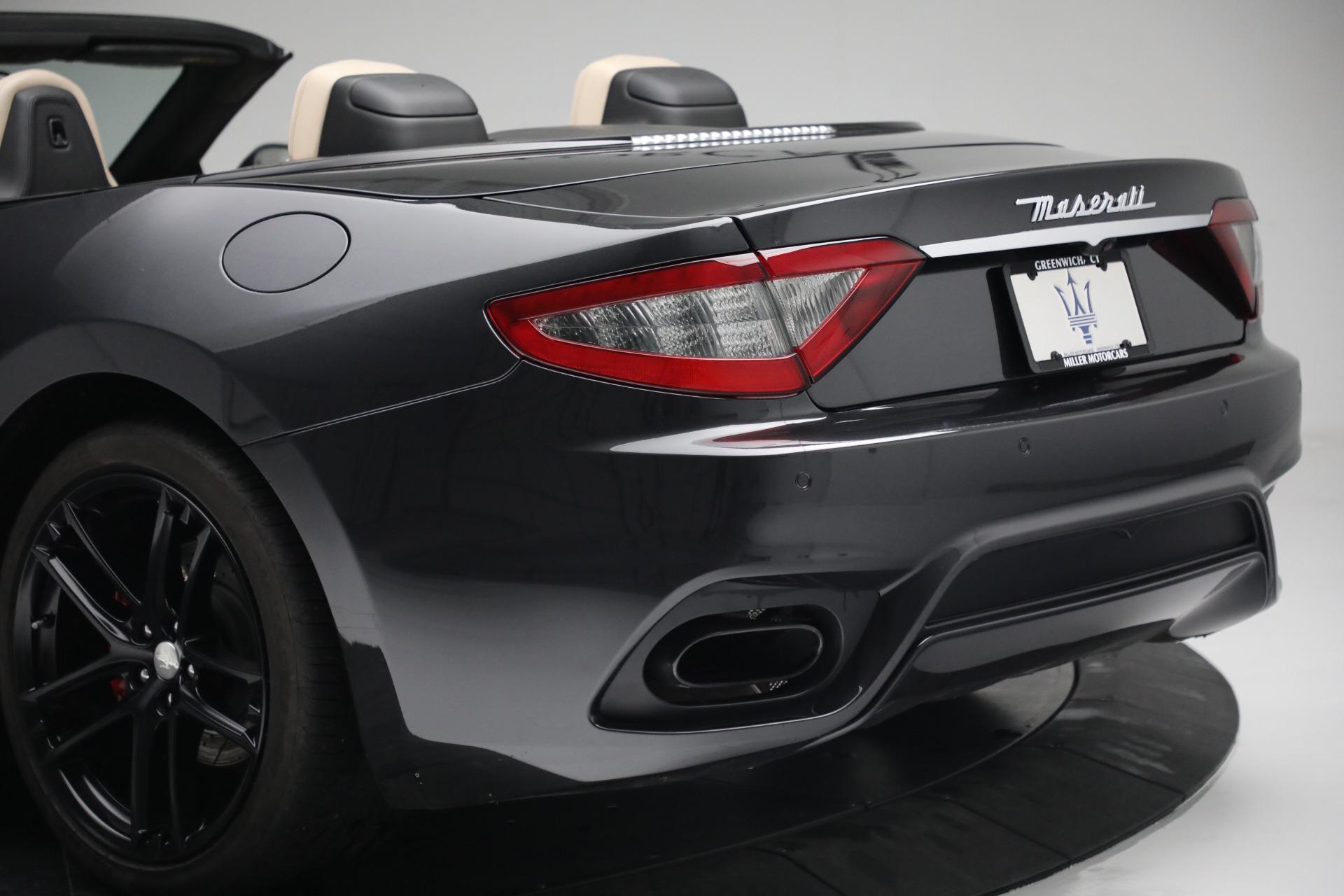 New 2019 Maserati GranTurismo Sport Convertible For Sale In Westport, CT 3040_p38