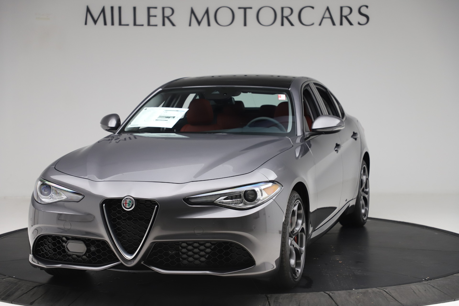 New 2019 Alfa Romeo Giulia Ti Sport Q4 For Sale In Westport, CT 3042_main
