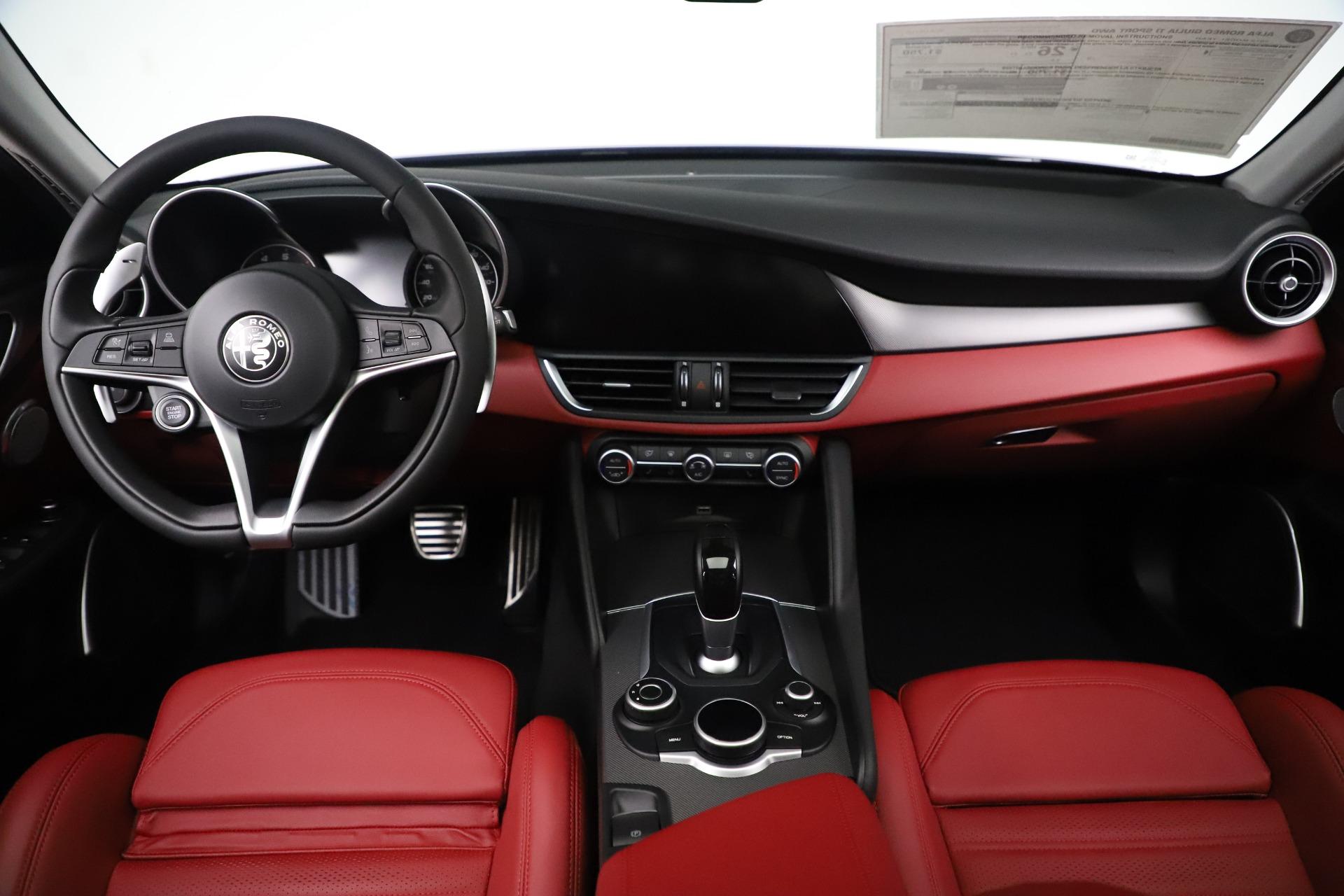 New 2019 Alfa Romeo Giulia Ti Sport Q4 For Sale In Westport, CT 3042_p16