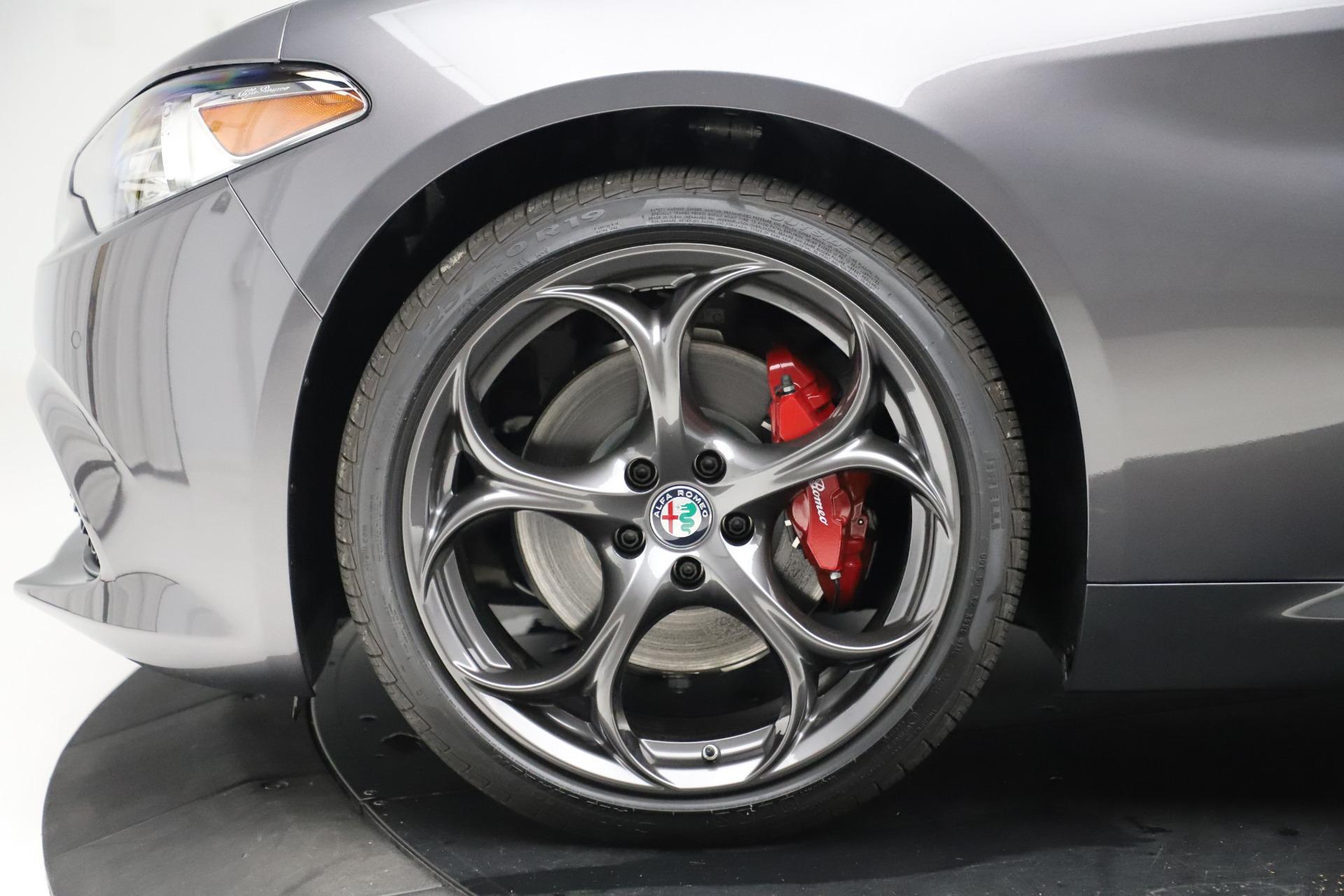 New 2019 Alfa Romeo Giulia Ti Sport Q4 For Sale In Westport, CT 3042_p30