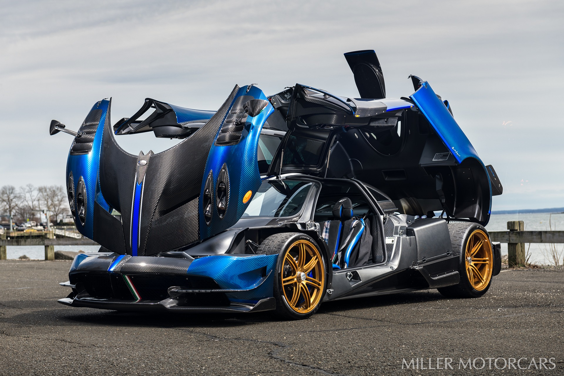 Used 2017 Pagani Huayra BC Macchina Volante For Sale In Westport, CT 3051_p12