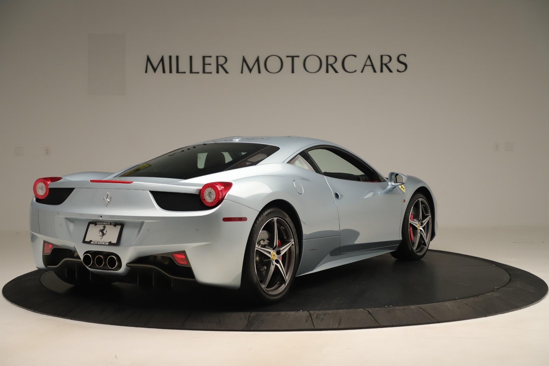 Used 2015 Ferrari 458 Italia  For Sale In Westport, CT 3052_p7