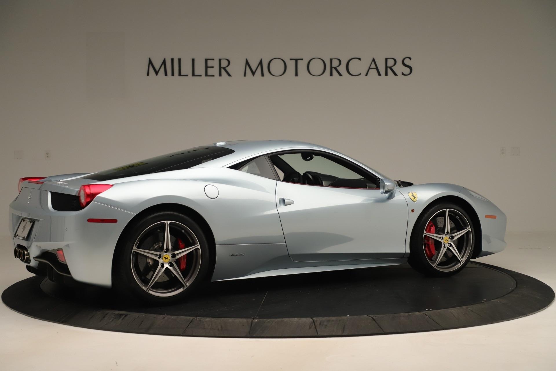 Used 2015 Ferrari 458 Italia  For Sale In Westport, CT 3052_p8