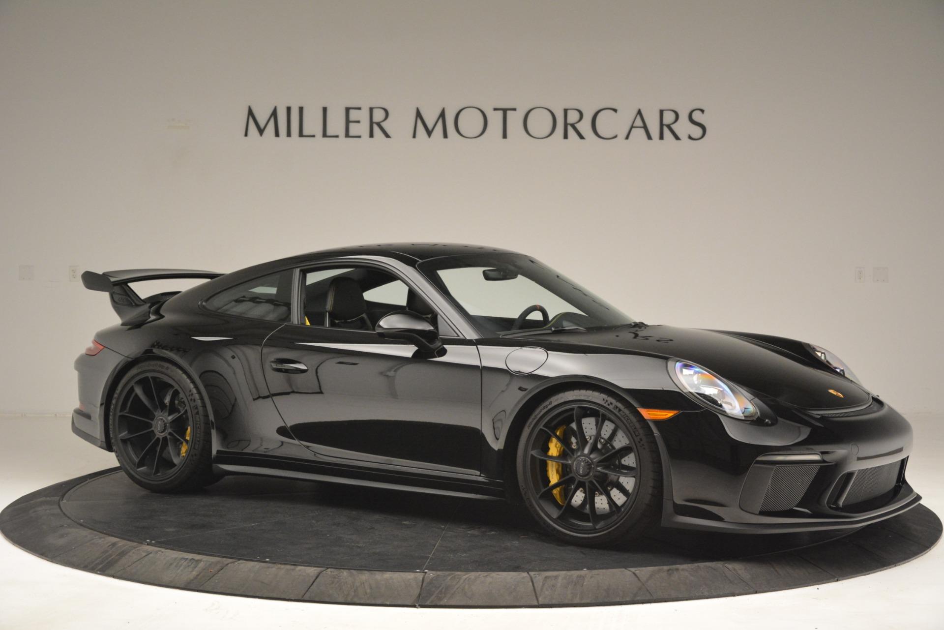 Used 2018 Porsche 911 GT3 For Sale In Westport, CT 3056_p10