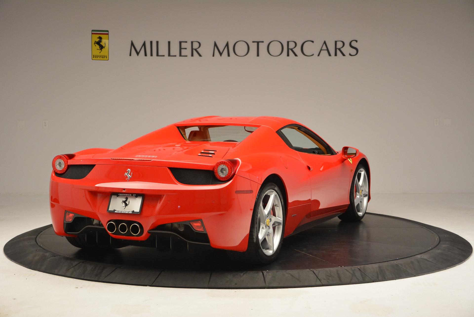 Used 2013 Ferrari 458 Spider  For Sale In Westport, CT 3057_p19