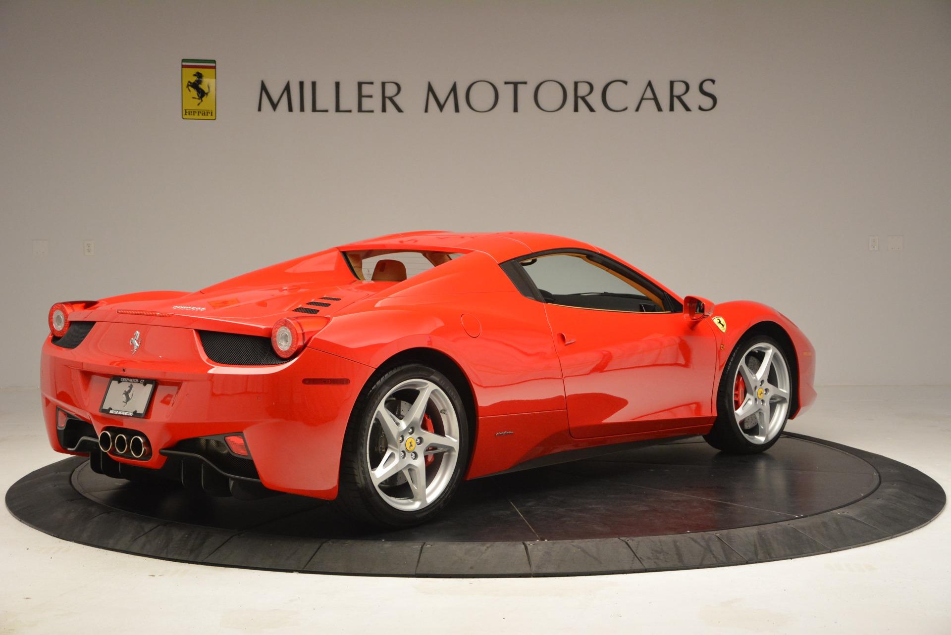 Used 2013 Ferrari 458 Spider  For Sale In Westport, CT 3057_p20