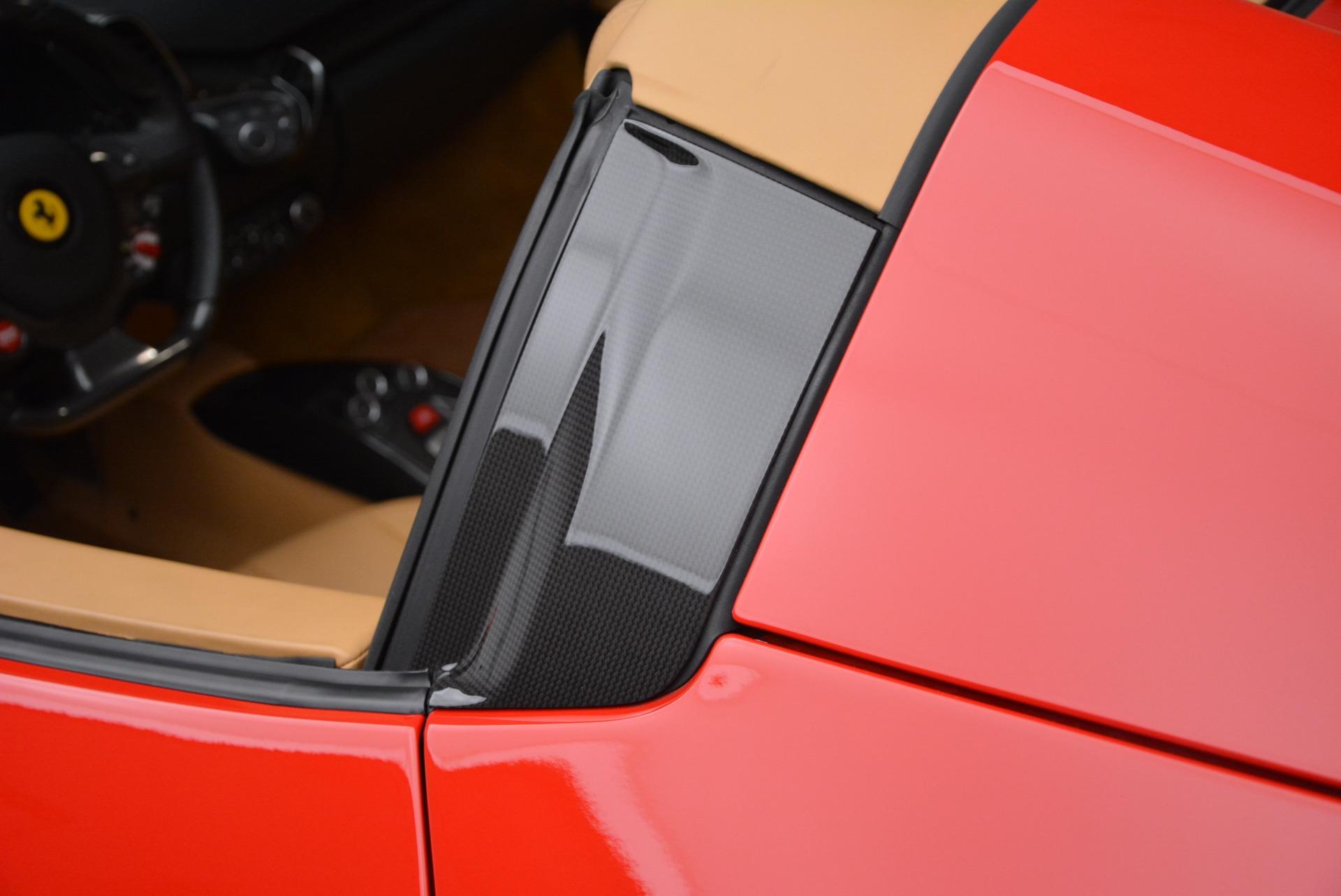 Used 2013 Ferrari 458 Spider  For Sale In Westport, CT 3057_p25