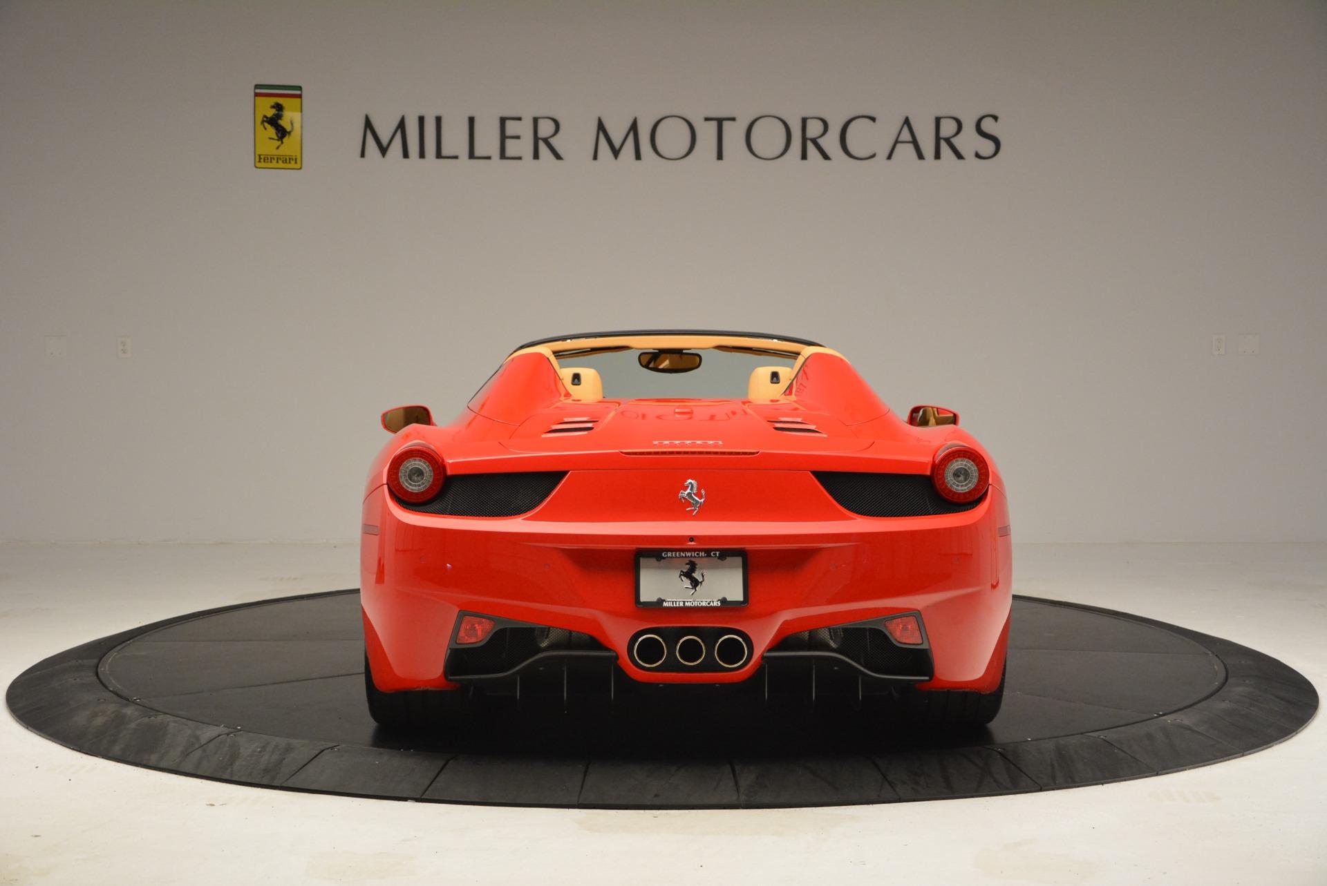 Used 2013 Ferrari 458 Spider  For Sale In Westport, CT 3057_p6