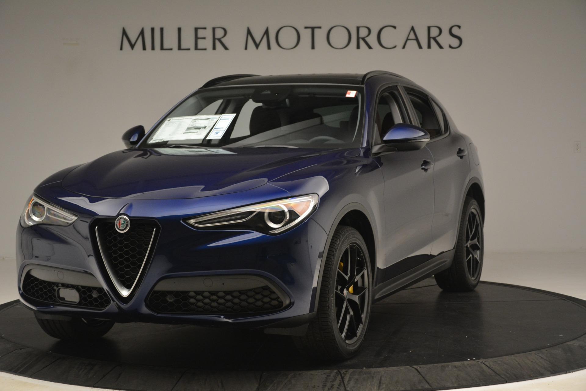 New 2019 Alfa Romeo Stelvio Sport Q4 For Sale In Westport, CT 3060_main