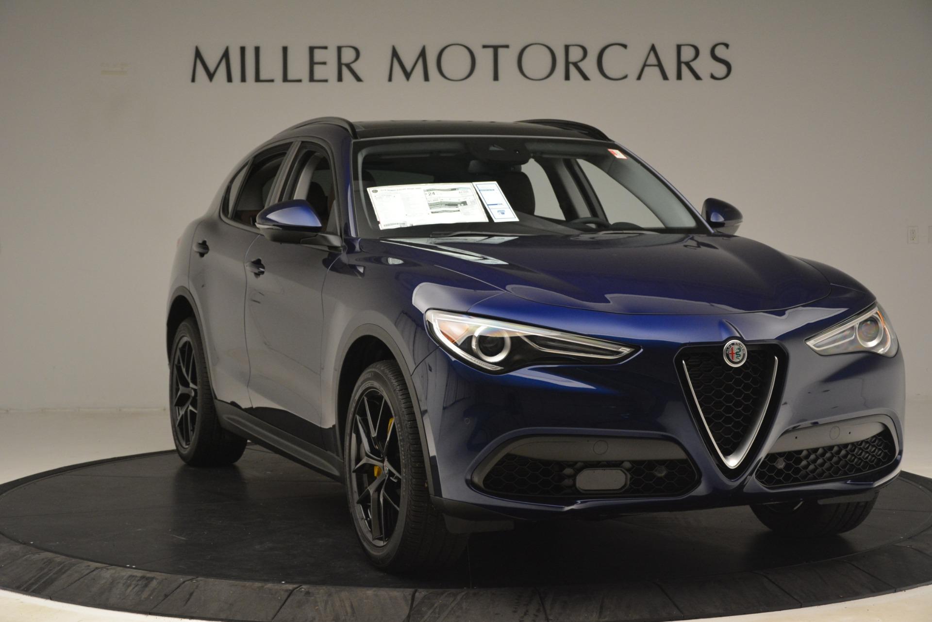 New 2019 Alfa Romeo Stelvio Sport Q4 For Sale In Westport, CT 3060_p11