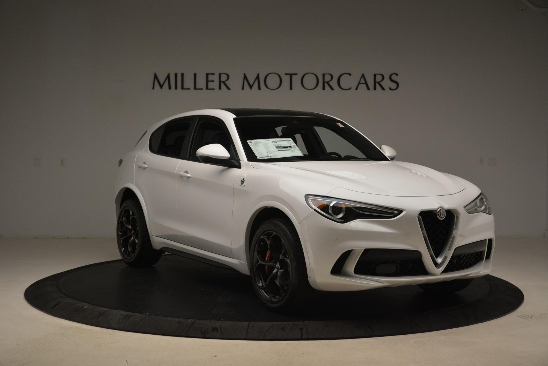 New 2019 Alfa Romeo Stelvio Quadrifoglio For Sale In Westport, CT 3065_p12