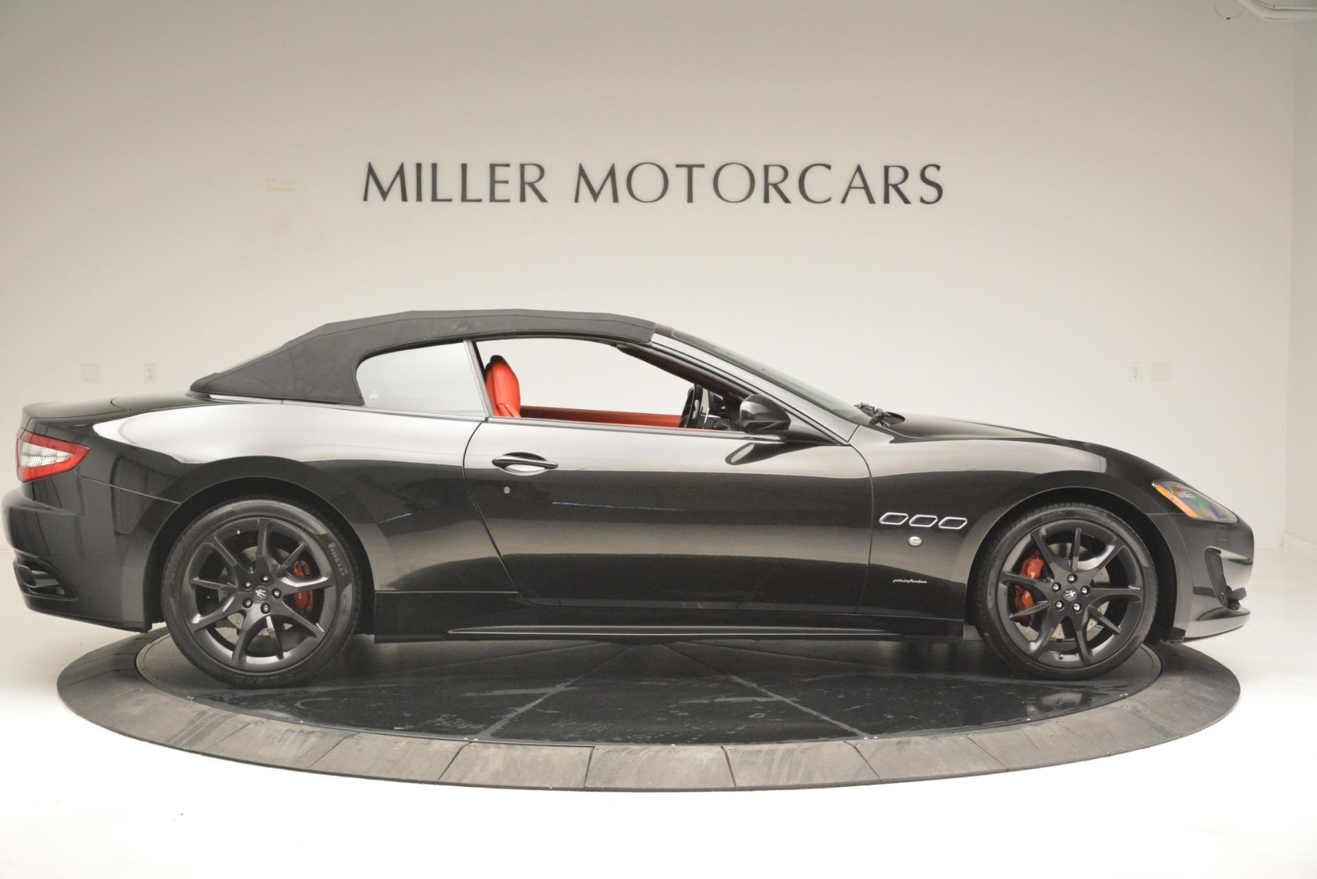 Used 2014 Maserati GranTurismo Sport For Sale In Westport, CT 3066_p17