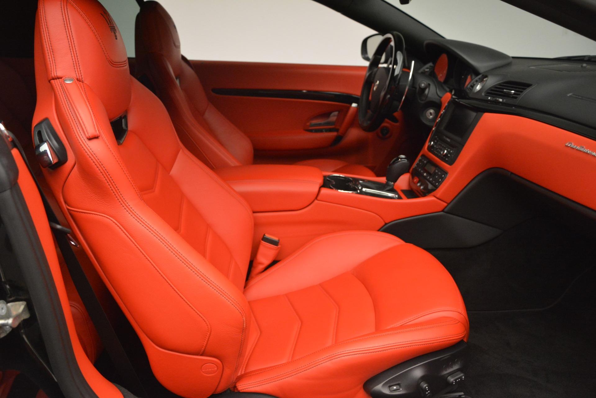 Used 2014 Maserati GranTurismo Sport For Sale In Westport, CT 3066_p23