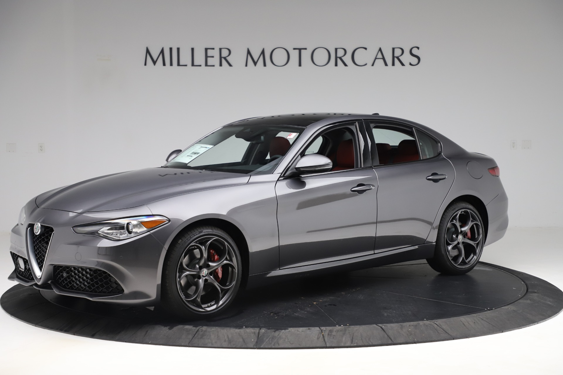 New 2019 Alfa Romeo Giulia Ti Sport Q4 For Sale In Westport, CT 3074_p2
