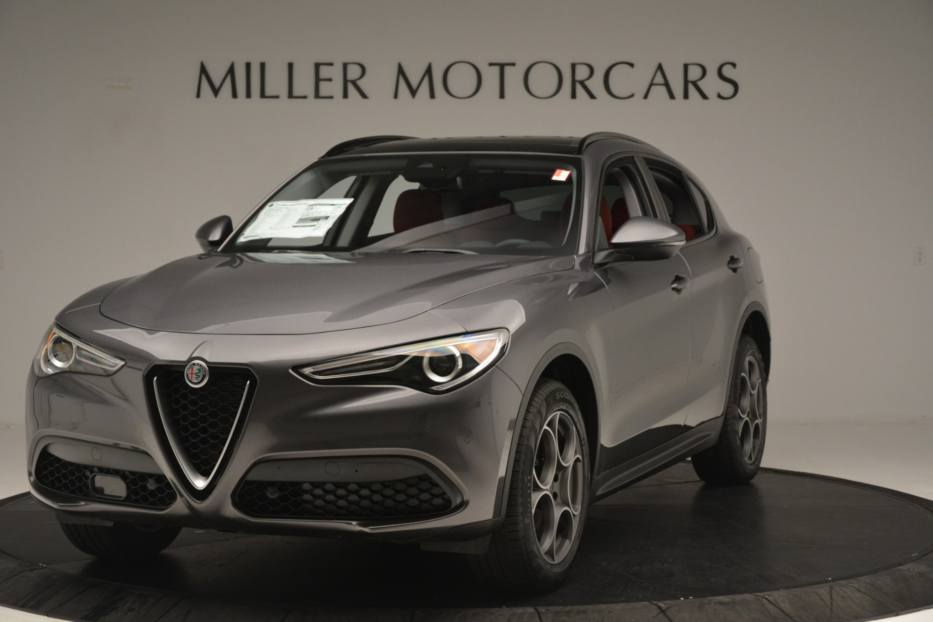 New 2019 Alfa Romeo Stelvio Sport Q4 For Sale In Westport, CT 3075_main