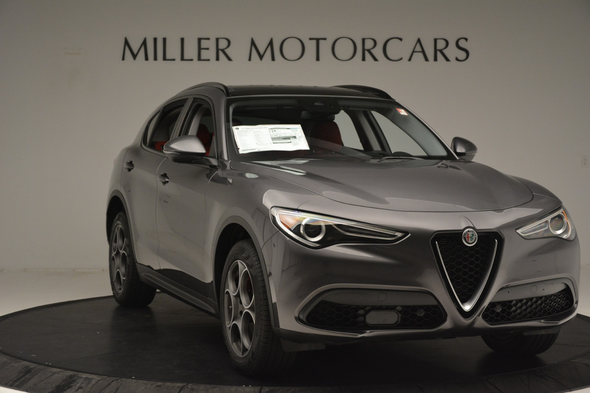 New 2019 Alfa Romeo Stelvio Sport Q4 For Sale In Westport, CT 3075_p11
