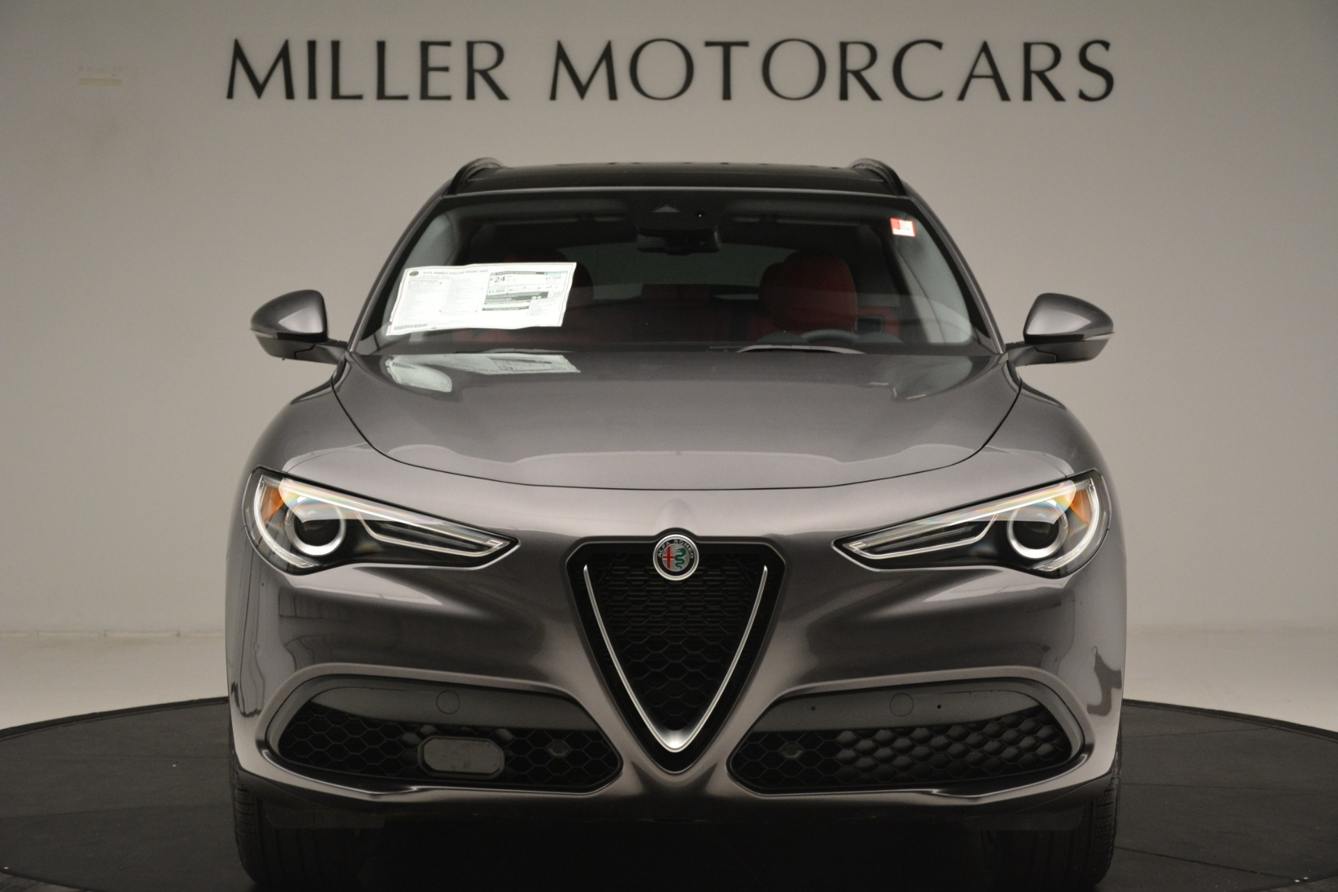 New 2019 Alfa Romeo Stelvio Sport Q4 For Sale In Westport, CT 3075_p12