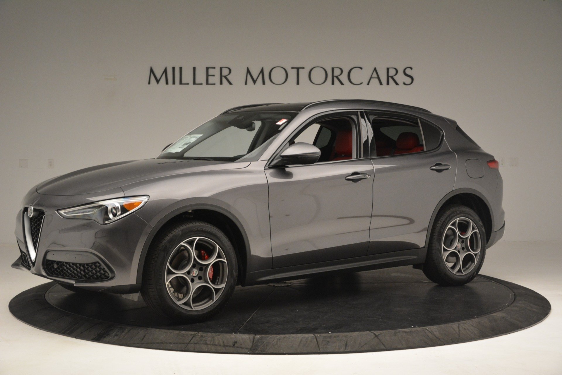 New 2019 Alfa Romeo Stelvio Sport Q4 For Sale In Westport, CT 3075_p2