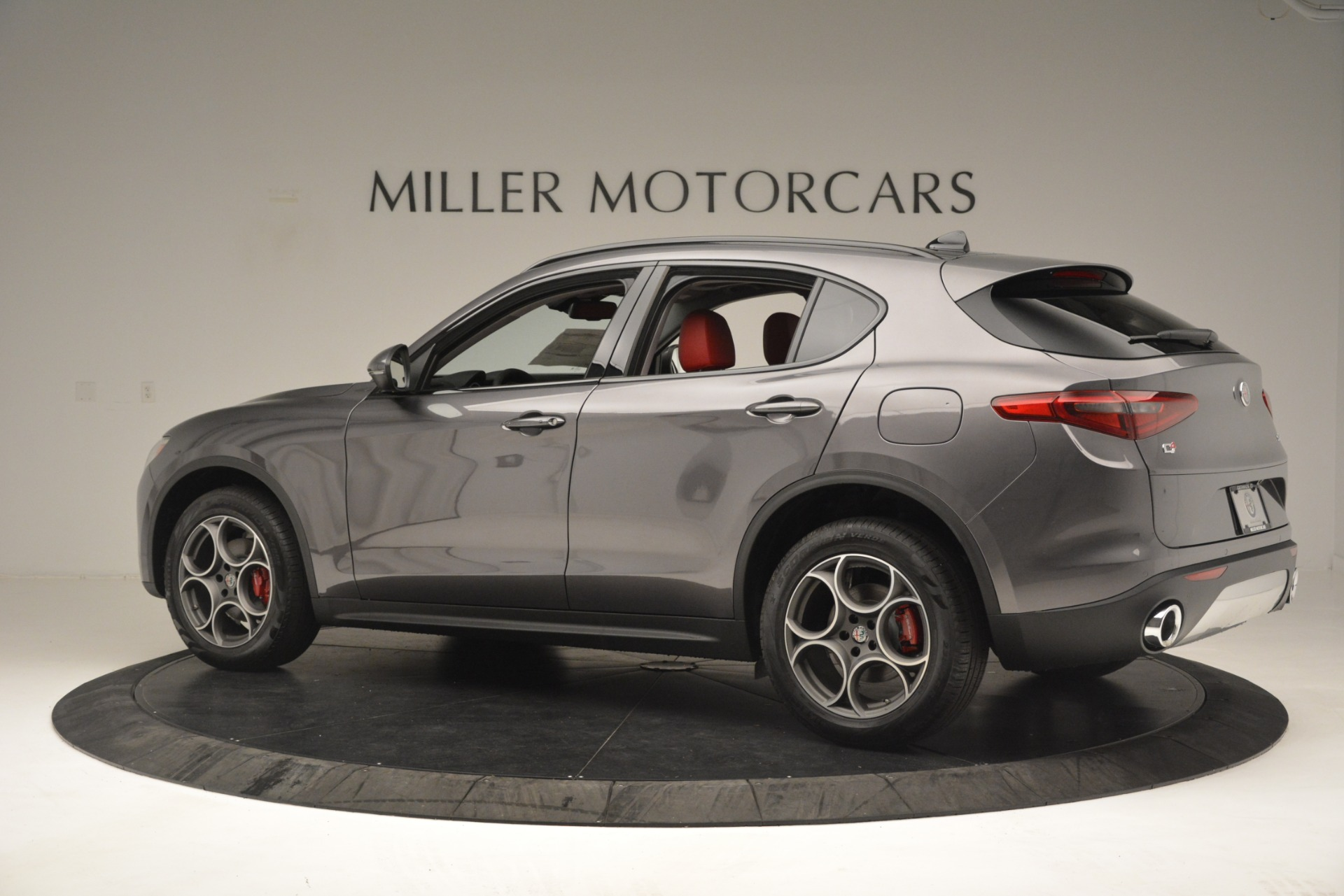 New 2019 Alfa Romeo Stelvio Sport Q4 For Sale In Westport, CT 3075_p4