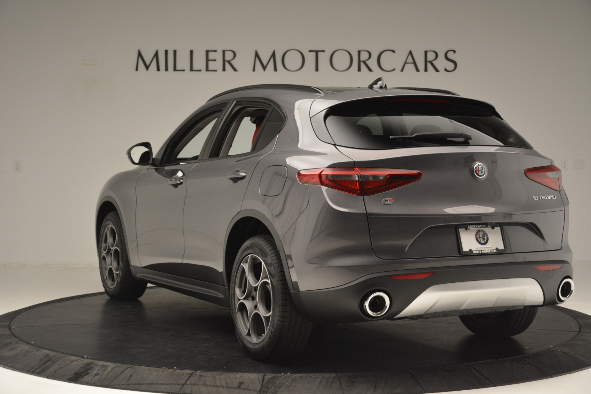 New 2019 Alfa Romeo Stelvio Sport Q4 For Sale In Westport, CT 3075_p5