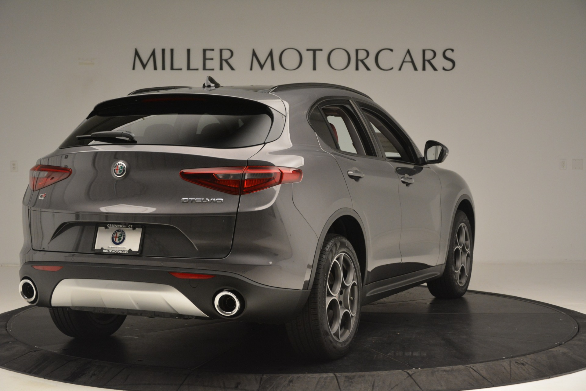 New 2019 Alfa Romeo Stelvio Sport Q4 For Sale In Westport, CT 3075_p7