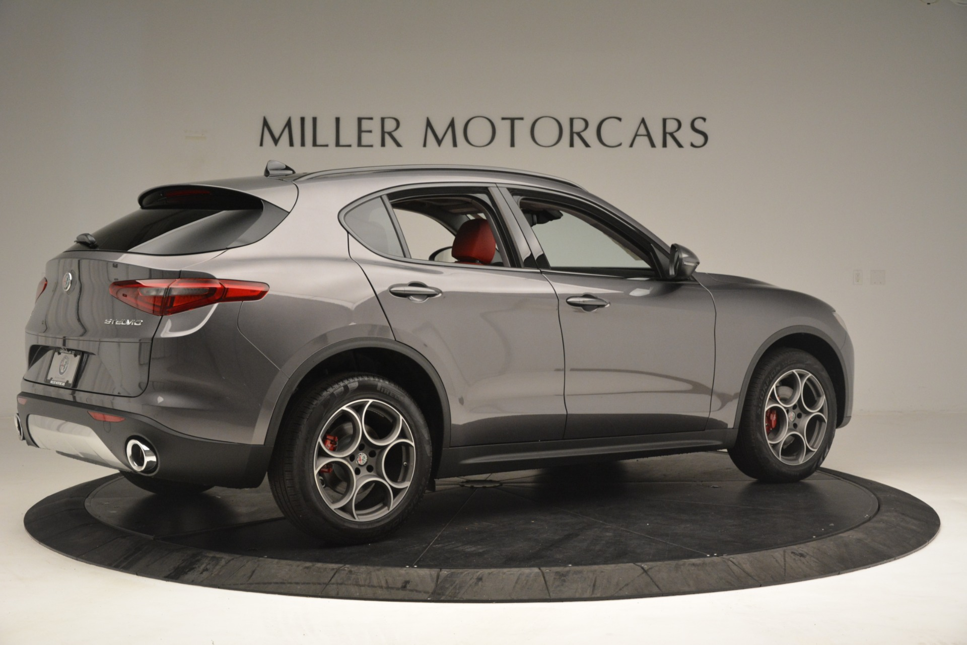 New 2019 Alfa Romeo Stelvio Sport Q4 For Sale In Westport, CT 3075_p8