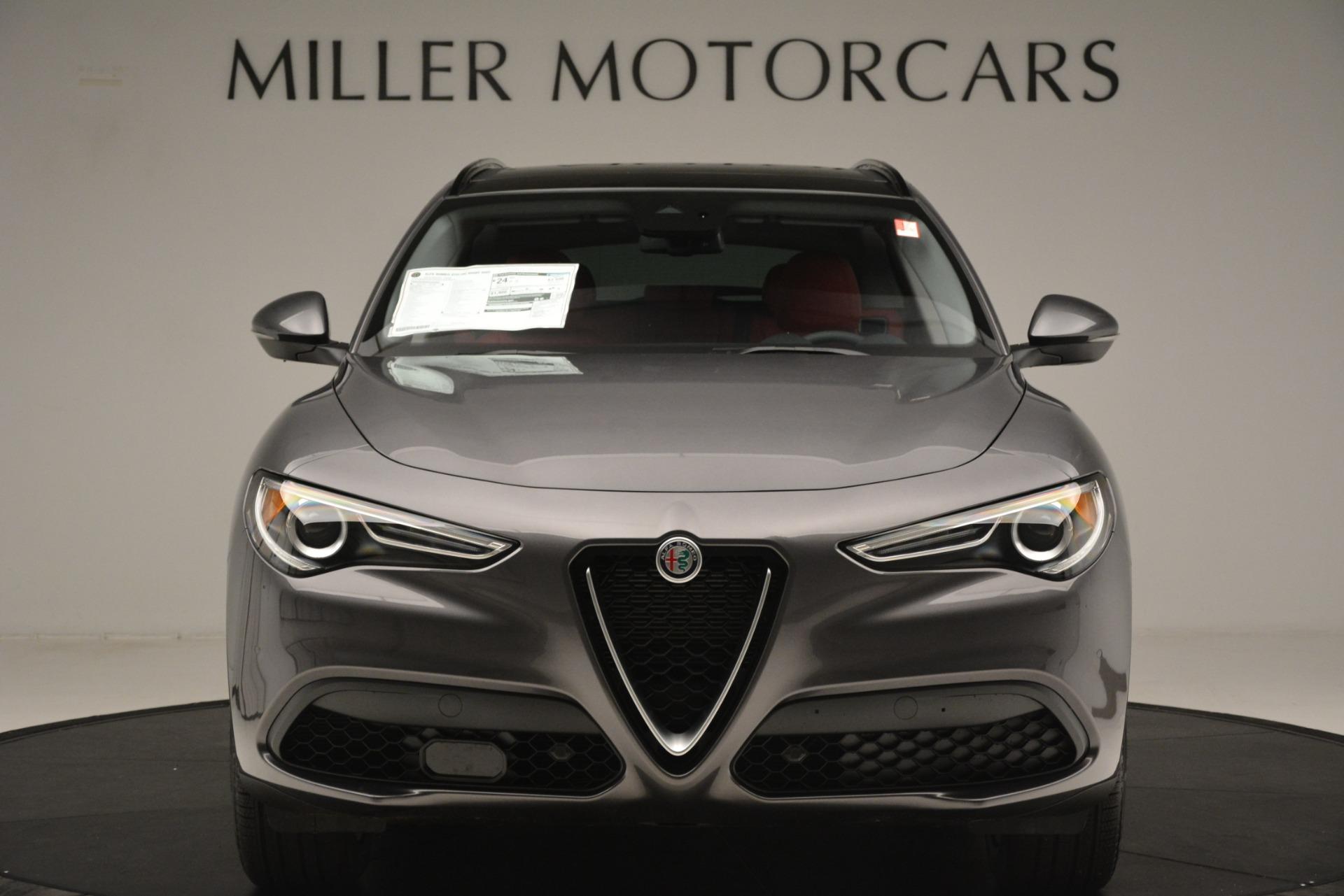 New 2019 Alfa Romeo Stelvio Sport Q4 For Sale In Westport, CT 3076_p12