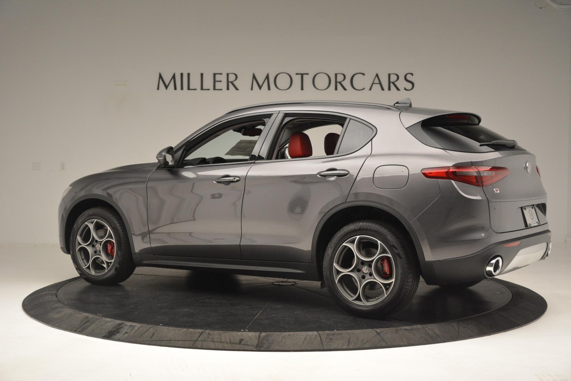 New 2019 Alfa Romeo Stelvio Sport Q4 For Sale In Westport, CT 3076_p4