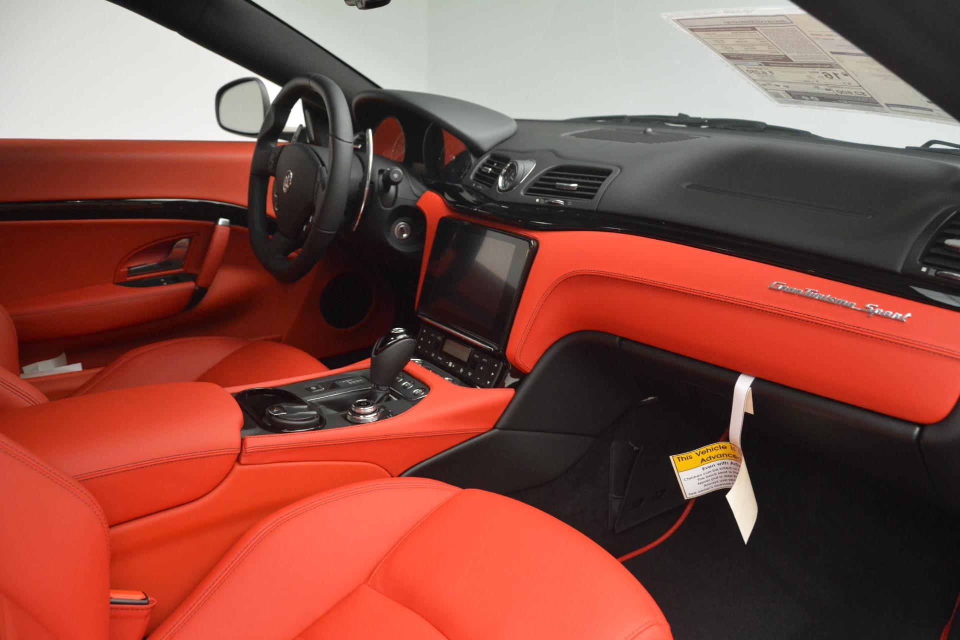 New 2018 Maserati GranTurismo Sport For Sale In Westport, CT 3083_p20