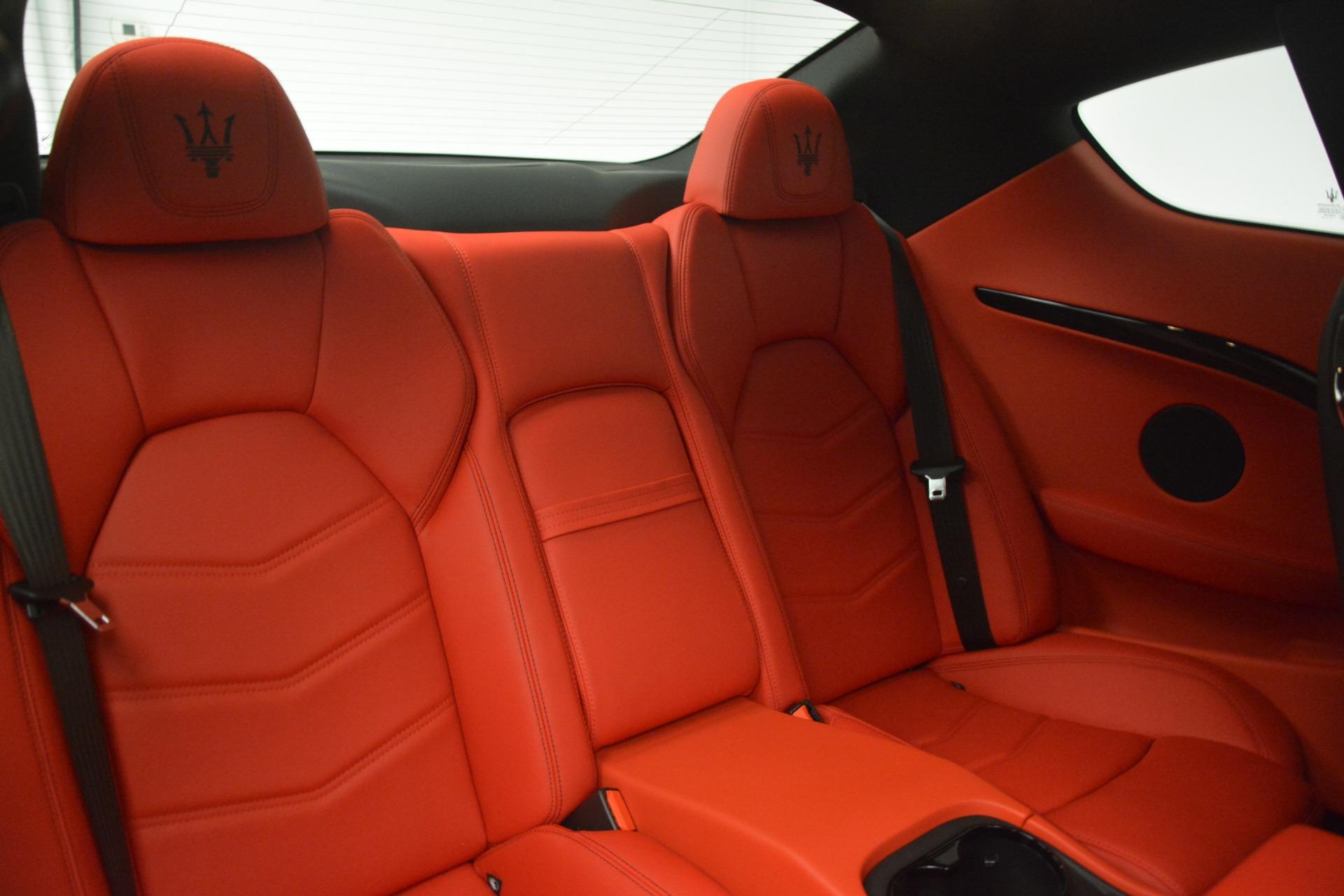 New 2018 Maserati GranTurismo Sport For Sale In Westport, CT 3083_p24