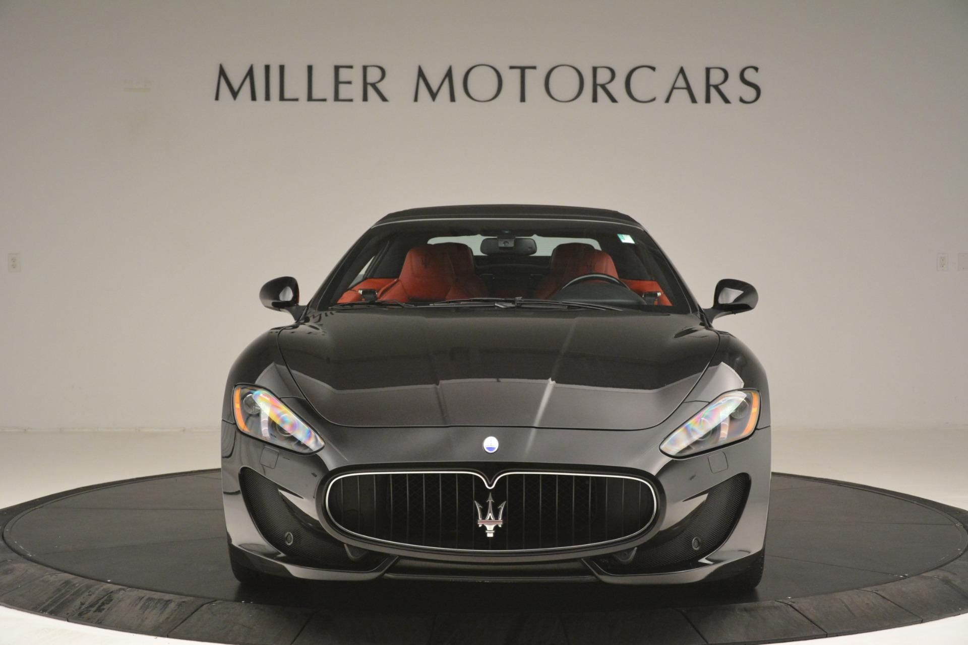 Used 2015 Maserati GranTurismo Sport For Sale In Westport, CT 3085_p24