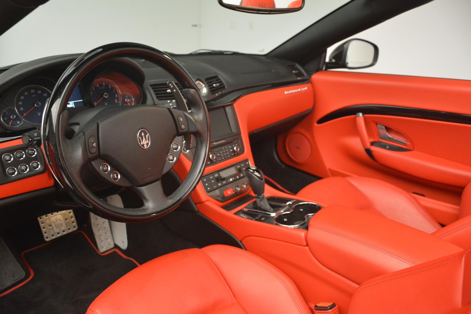 Used 2015 Maserati GranTurismo Sport For Sale In Westport, CT 3085_p25
