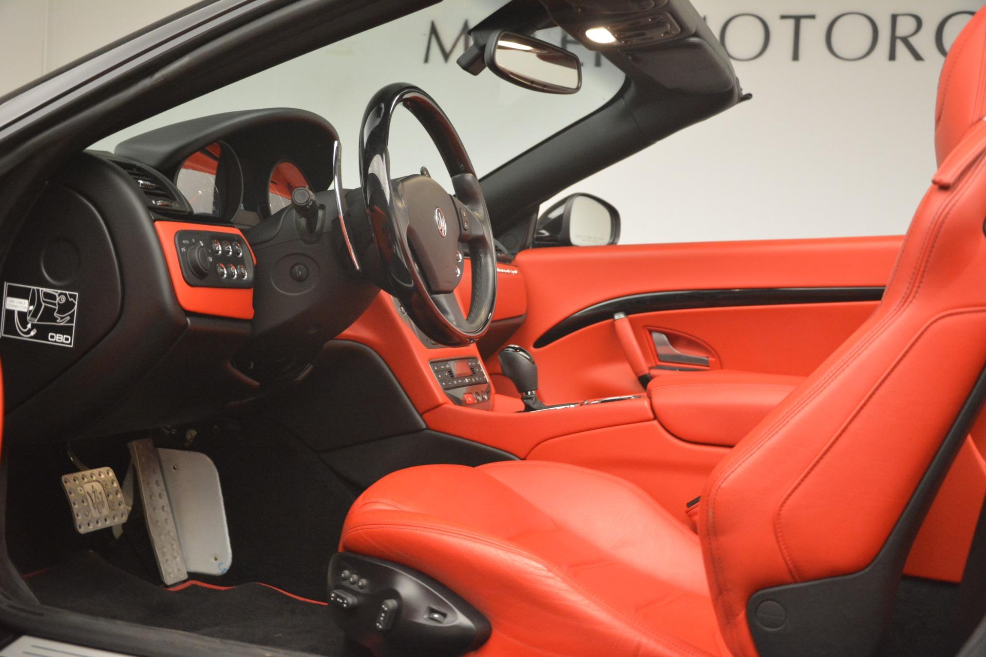 Used 2015 Maserati GranTurismo Sport For Sale In Westport, CT 3085_p26
