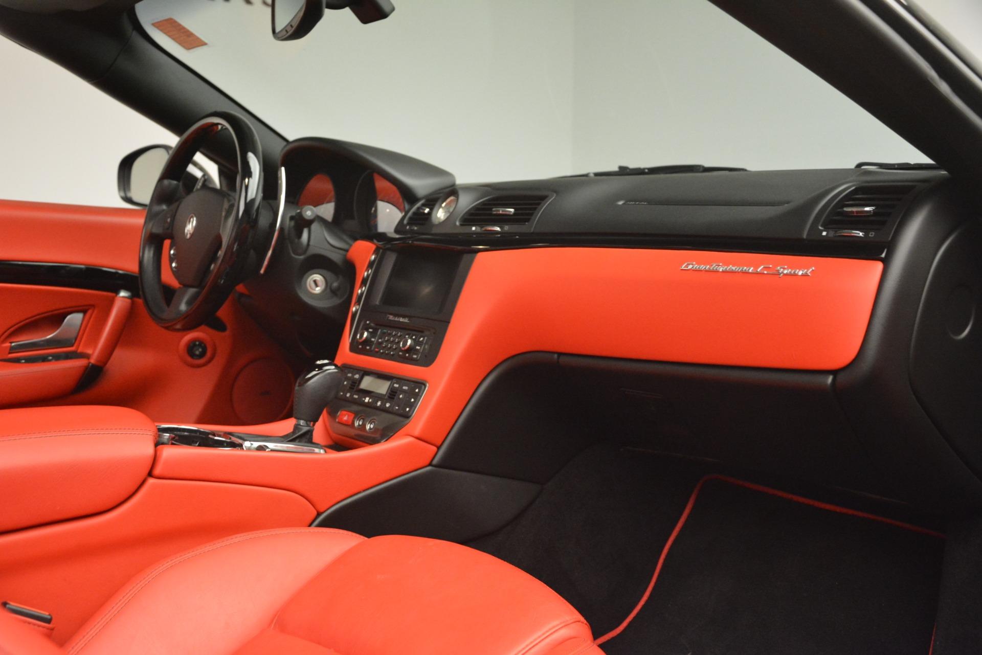 Used 2015 Maserati GranTurismo Sport For Sale In Westport, CT 3085_p33