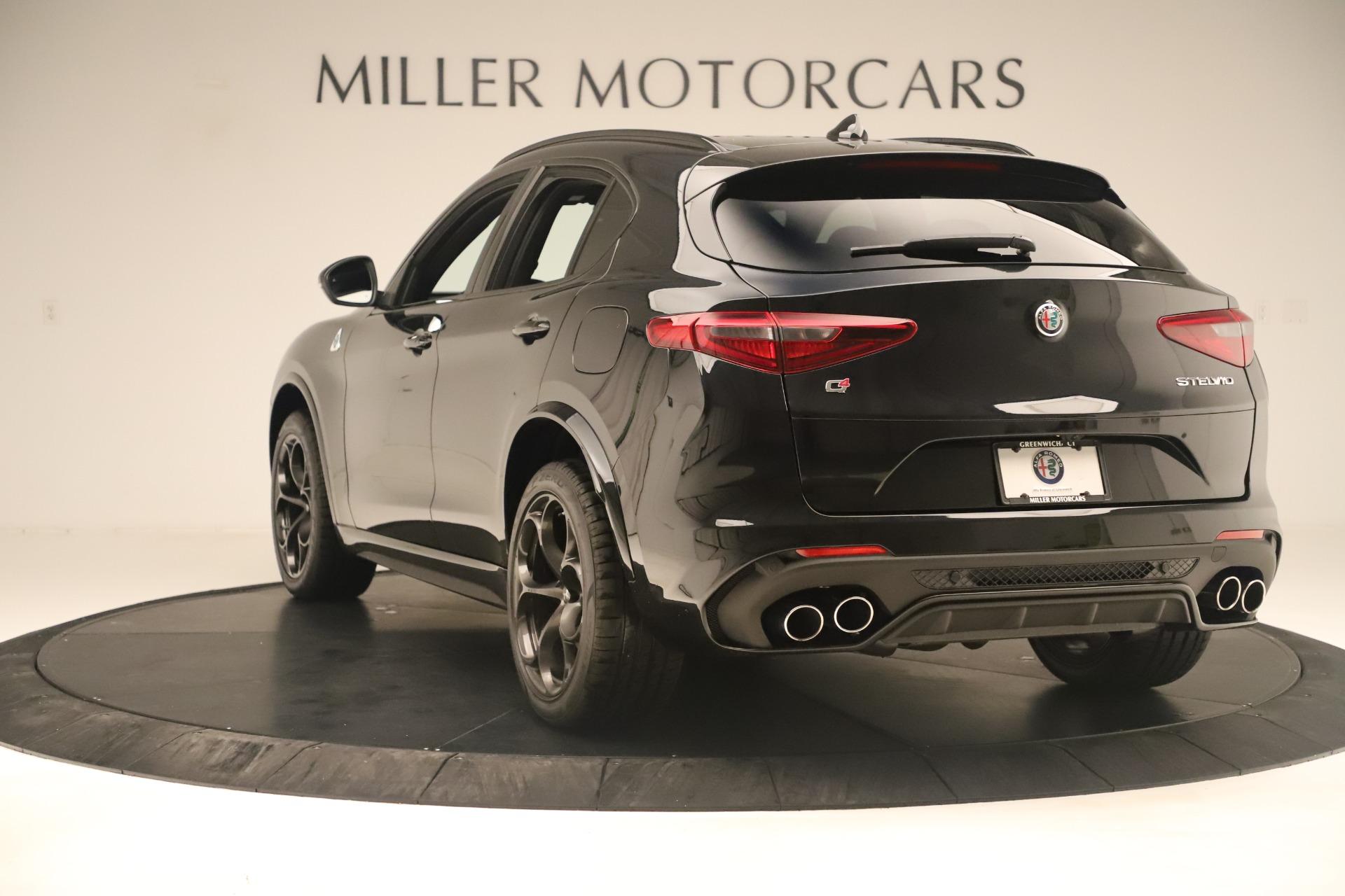 New 2019 Alfa Romeo Stelvio Quadrifoglio For Sale In Westport, CT 3093_p5