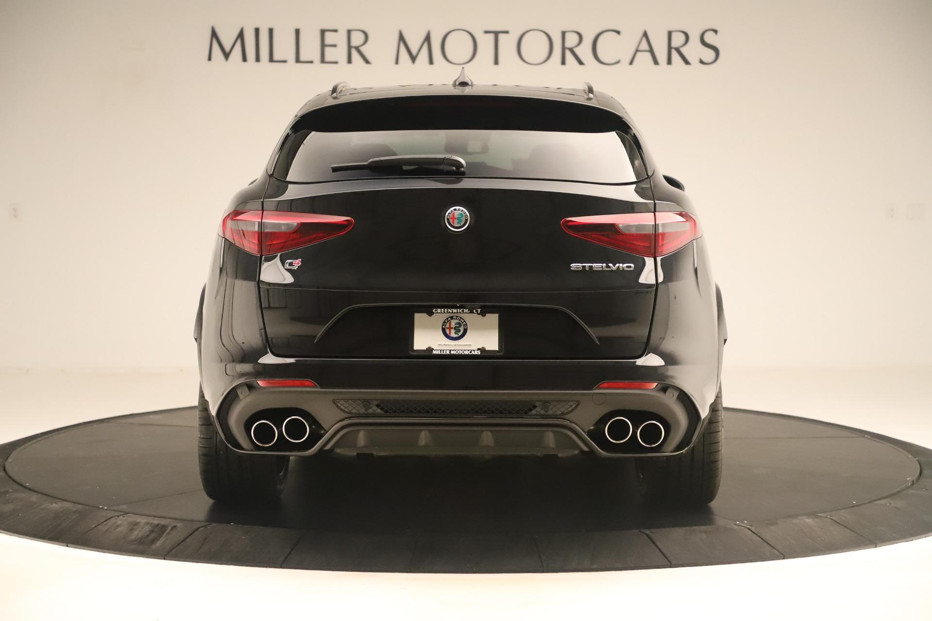 New 2019 Alfa Romeo Stelvio Quadrifoglio For Sale In Westport, CT 3093_p6
