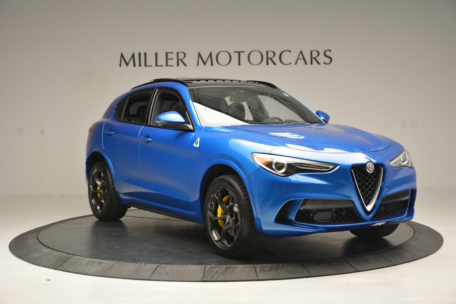 New 2019 Alfa Romeo Stelvio Quadrifoglio For Sale In Westport, CT 3094_p17